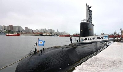 """Jueza dice que hallazgo del submarino ARA San Juan acaba con """"elucubraciones"""""""