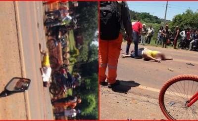 Motociclistas fallecen en accidentes ruteros