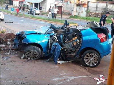 Dos personas fallecen en accidente de tránsito en Encarnación