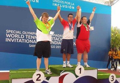 OEP sumó 3 nuevas medallas en cierre del Mundial de tenis