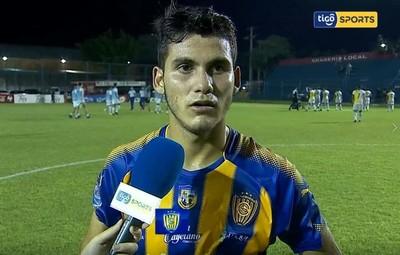 Blas Armoa, la figura de Sportivo Luqueño