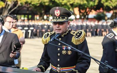 Mario Abdo cambió al comandante y subcomandante de la Policía Nacional