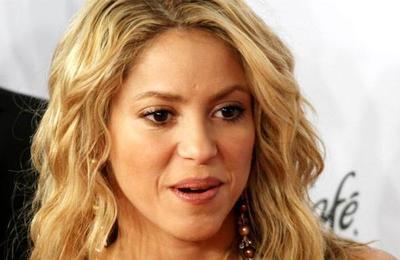 La reacción de Shakira al ver el gol que anotó su hijo