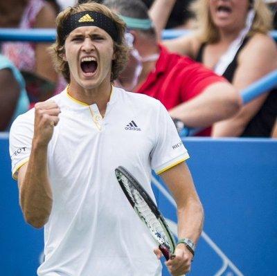 'Asombroso', dice Zverev, ganador del Masters