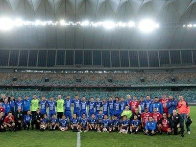 Paraguay realiza último ensayo en el Moses Mabhida Stadium