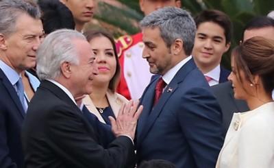 Embajada brasileña felicitó a Mario Abdo por la expulsión de Piloto