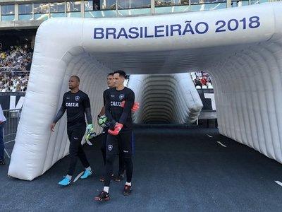 Gatito, el 'monstruo' de Botafogo
