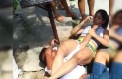 ¡Qué dolor! Intentó asaltar a una luchadora de Jiu-Jitsu y sufrió las consecuencias