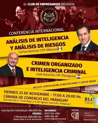El Club de Empresarios presenta una conferencia internacional este viernes