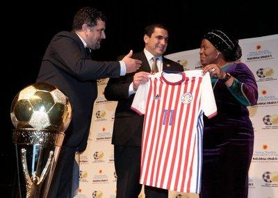"""Paraguay presente en el """"Nelson Mandela Challenge"""""""