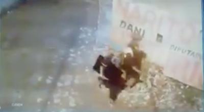 HOY / Detenido por robar televisor de humilde escuela