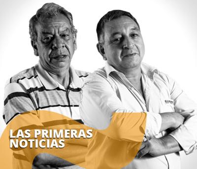 Las primeras noticias con Amado Farina, Matias Casola y Domiciano Pereira