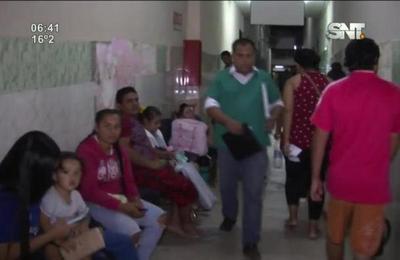 Sala de urgencias pediátricas del Hospital de Barrio Obrero debe ser reparada