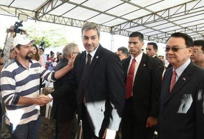 Abdo Benítez promete una lucha sin tregua contra el EPP