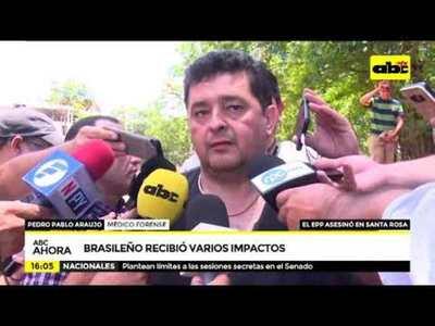 Ataque del EPP en Santa Rosa: Brasileño recibió varios impactos