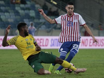 Sudáfrica 1-1 Paraguay / Imágenes: gentileza de Telefuturo