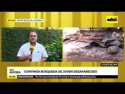 Ataque del EPP en Santa Rosa: Un menor sigue desaparecido