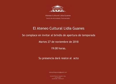 Ateneo Cultural Lidia Guanes abrirá sus puertas como espacio gratuito