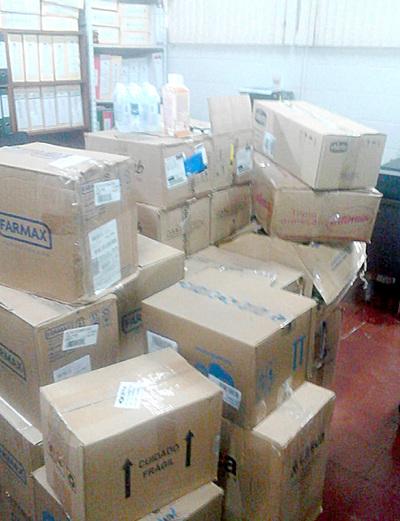 Destruirán lote de medicamentos requisados de farmacia en Santa Rita