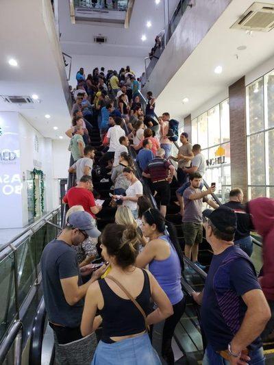 Exitoso black friday en el Shopping China