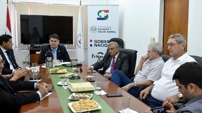 Ganaderos y frigoríficos se reunieron con las autoridades del Senacsa para planificar 2019