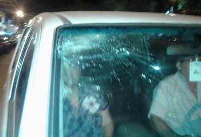 Ciudadanía indignada completa 42 noches con una caravana de vehículos y un incidente
