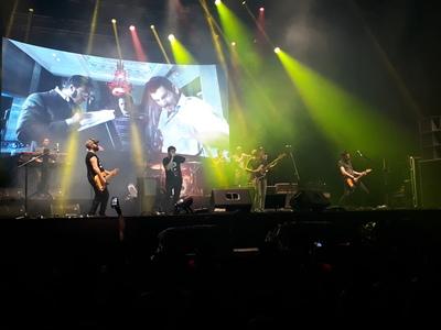 Así fue por primera vez el Cosquín Rock en Paraguay