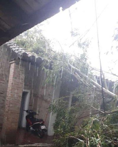 Temporal afecta sur de Ñeembucú