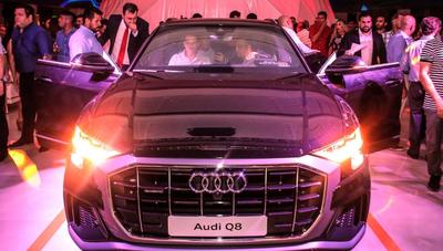 Con un crecimiento anual de hasta 30%, Audi presentó su nuevo SUV