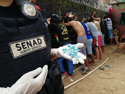 Senad anula foco de microtráfico y expendio de drogas en Loma Pytâ