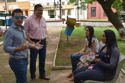 San Ignacio: Internet gratis en la Plaza San Roque