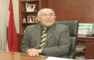 Sindulfo Blanco presentó una acción de inconstitucionalidad contra su remoción vía juicio político
