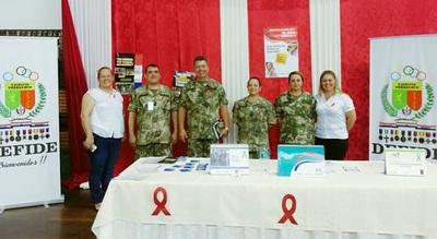Impulsan campaña de prevención contra el VIH desde las FFAA