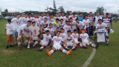 Nacional gritó campeón en la Sub 16