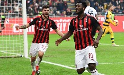 """El Milan toca la zona """"Champions"""""""