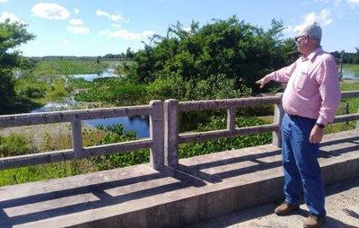 Ministro de Obras Públicas recorrió rutas del Ñeembucú