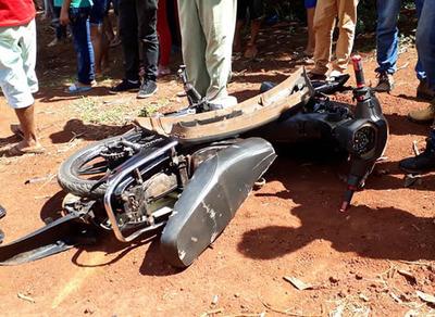 Dos menores sufren  lesiones en accidente