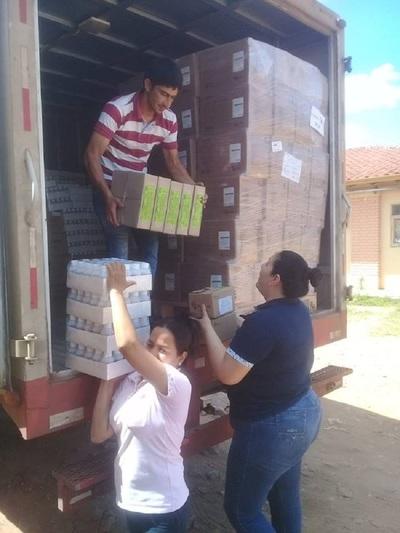 Proveen medicamentos y leche a servicios de salud de Paraguarí