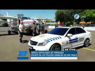 Narco israelí expulsado de Paraguay se fugó en São Paulo