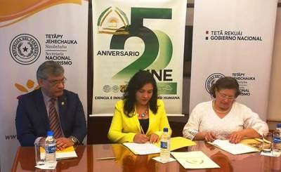 Senatur y UNE acordaron acciones para potenciar el desarrollo turístico