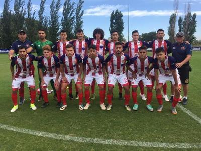 Selección formativa del R.I. 3 Corrales empata en primer amistoso en Argentina
