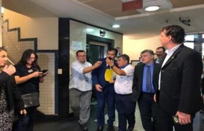 Presentan libelo acusatorio y se inicia el proceso de juicio político contra los ministros del TSJE