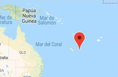 Terremotos sacuden islas en el Océano Pacífico