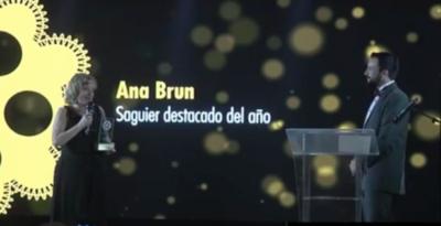 """HOY / La Academia premió a los referentes del cine con el Galardón """"Carlos Saguier"""""""