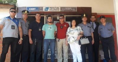 Paraguayo con orden de captura fue expulsado de Argentina