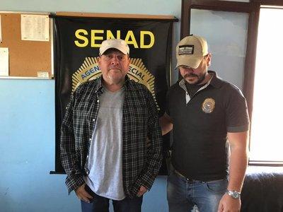 Dueño de supuesta narcoavioneta se entrega en la Senad