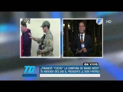 """Abogado de Cucho: """"El presidente es un malagradecido"""""""