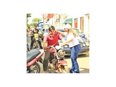 Campaña busca  prevenir los  siniestros viales en Guairá
