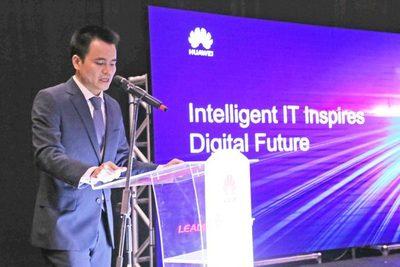 Huawei presentó un encuentro con el futuro