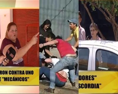"""Escandalosa pelea entre vecinos de Carlos """"El Cubano"""""""